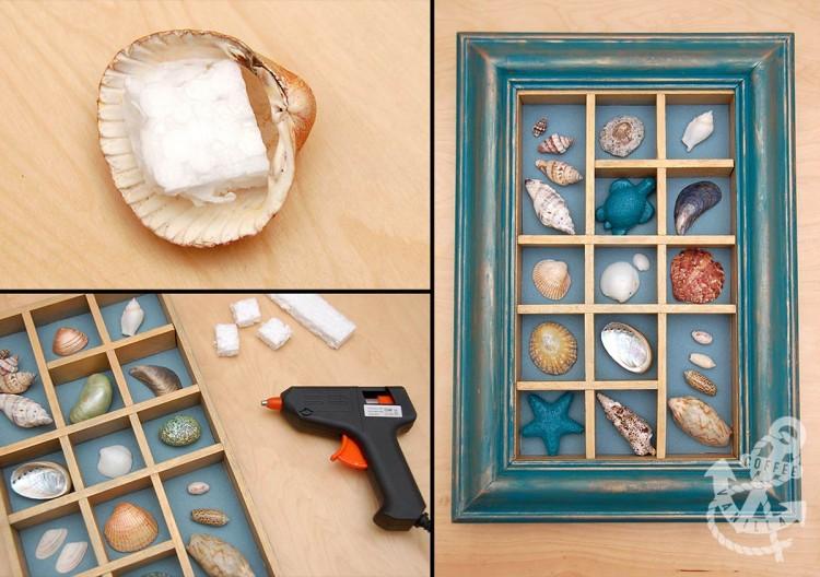 seashore box frame