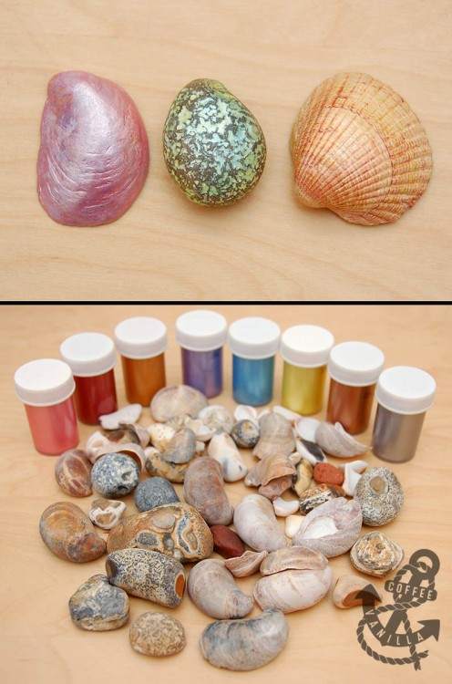 metallic hobby paints from Tiger store
