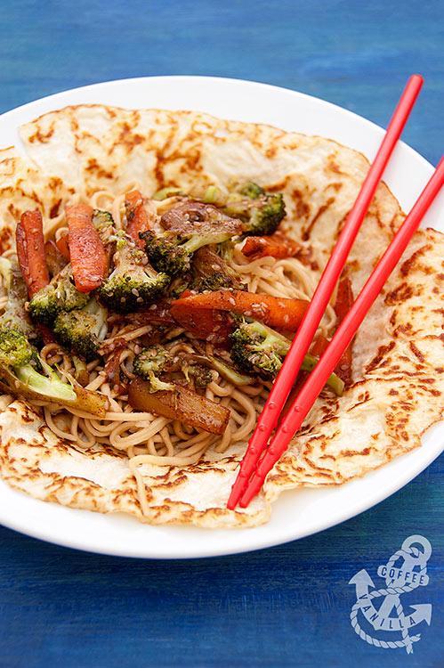 Chinese take away noodles recipe