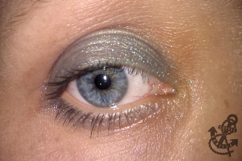 after allergy skin around eyes