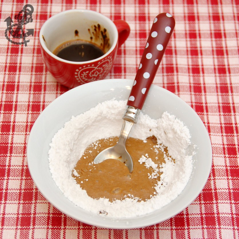 coffee glaze for cookies and cakes