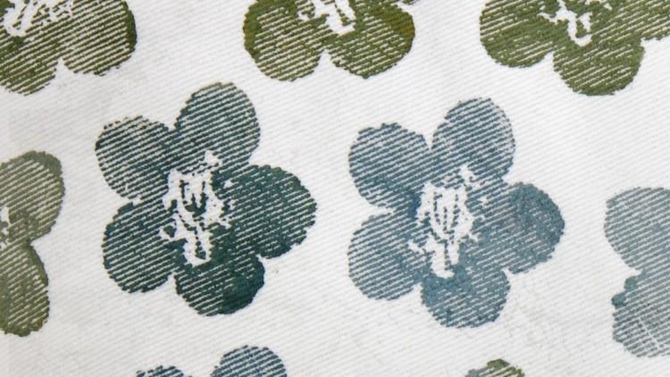Hand Stamped Ektorp Sofa Cover – Ikea Hack