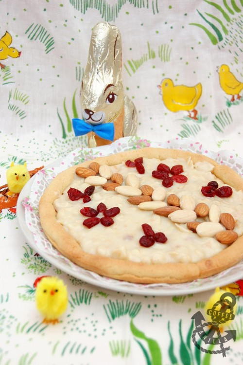 cranberry almond dessert condensed milk pie