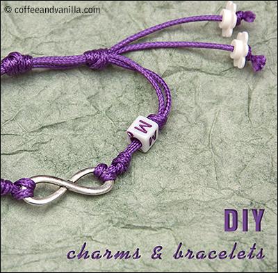 kids crafts DIY bracelets charms easy children jewelry