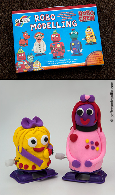 modelling clay robots for girls