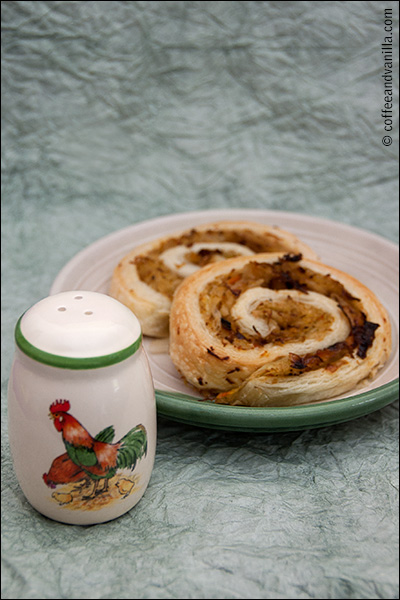 puff pastry swirls savoury savory recipe