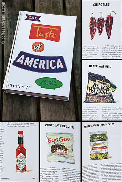 glossary of American food products dishes recipes USA