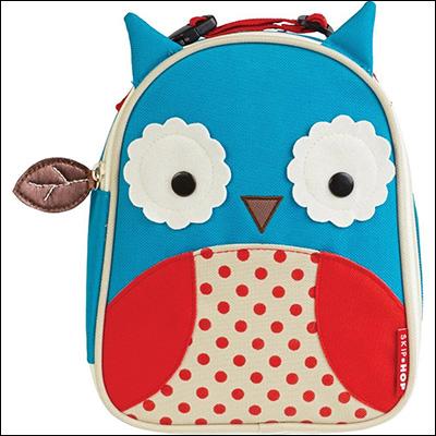 owl lunch bag lunch box animal preschool kids