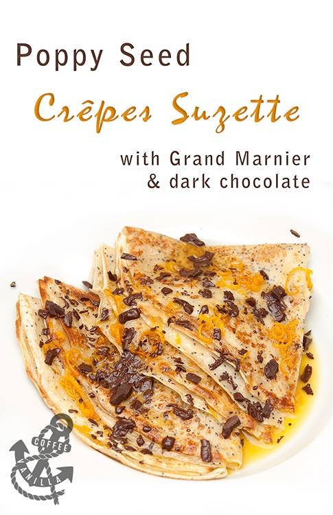 crepes suzette grand marnier pancakes orange liquor crêpes