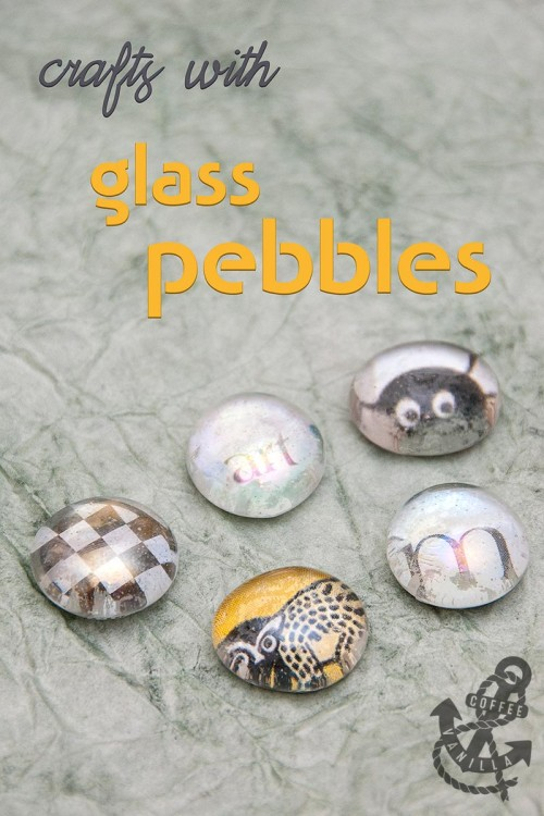 glass pebbles nuggets gems beads crafts for kids