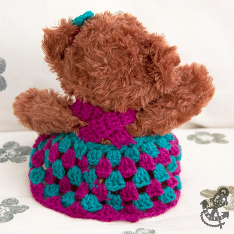 easy double crochet pattern free doll outfit