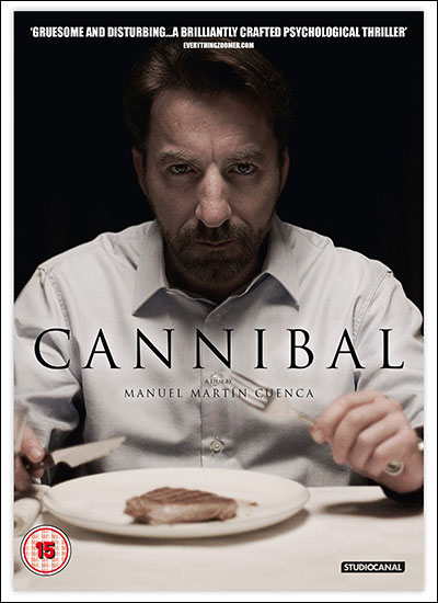 Cannibal movie DVD cover