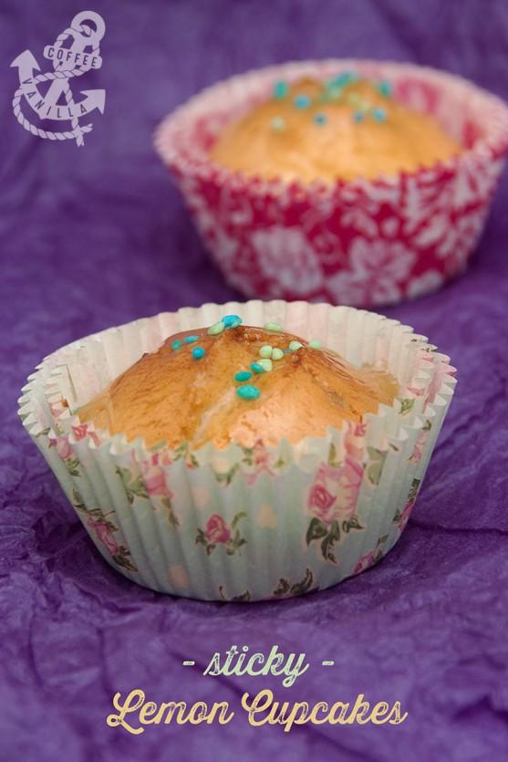 sticky lemon cupcakes recipe