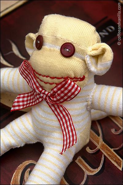 sock monkey rainy day craft for kids handmade toys diy