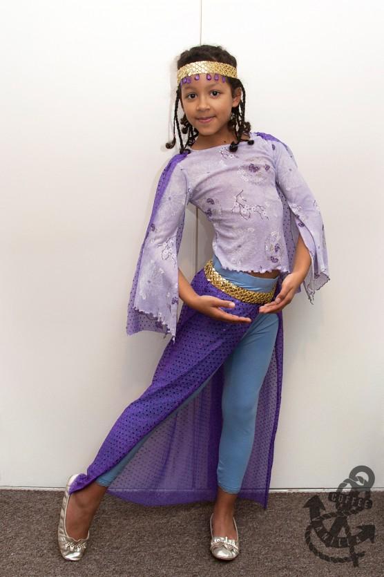 Aladdin Arabian Middle Eastern Dancer Costume Outfit Dress up