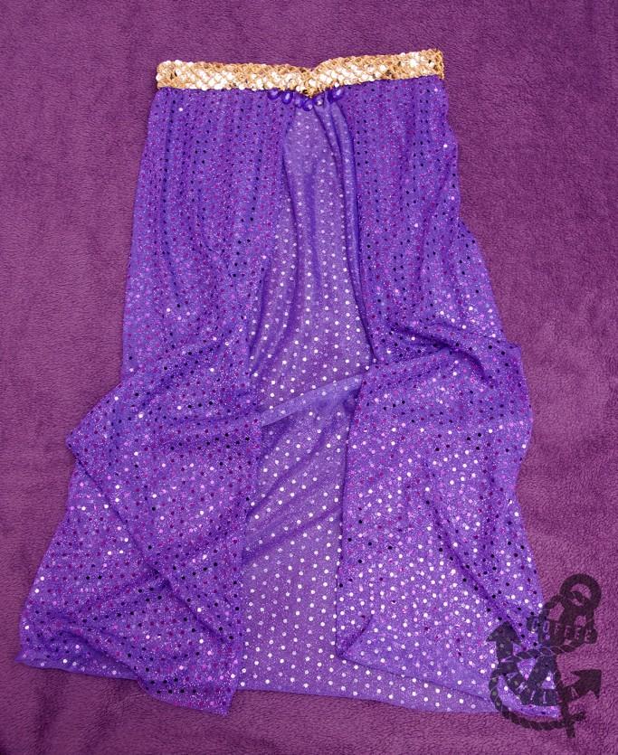 Aladdin Arabian dancer pants belt with jewels