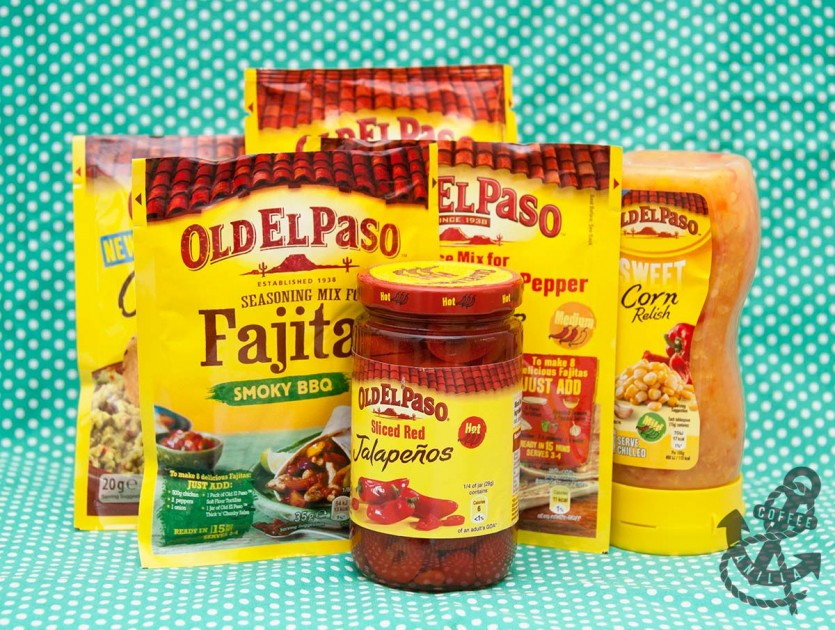 Mexican seasoning and condiments for fajitas