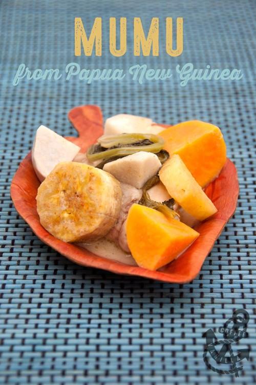 mumu recipe dish from Papua New Guinea