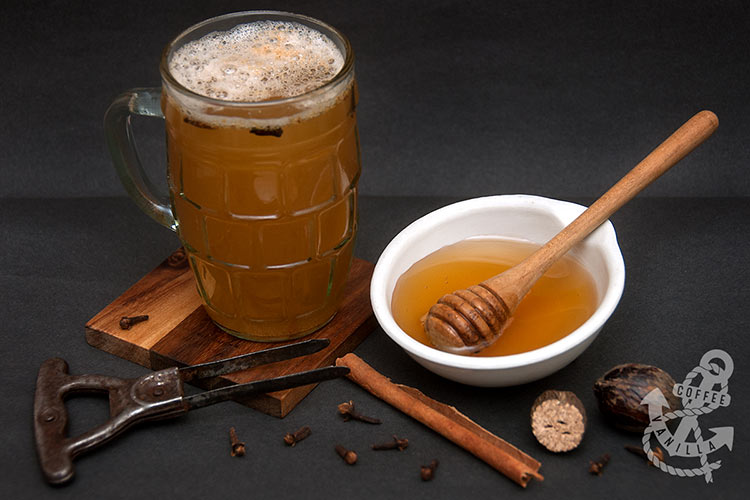 recipe for grzaniec Polish warm honey beer