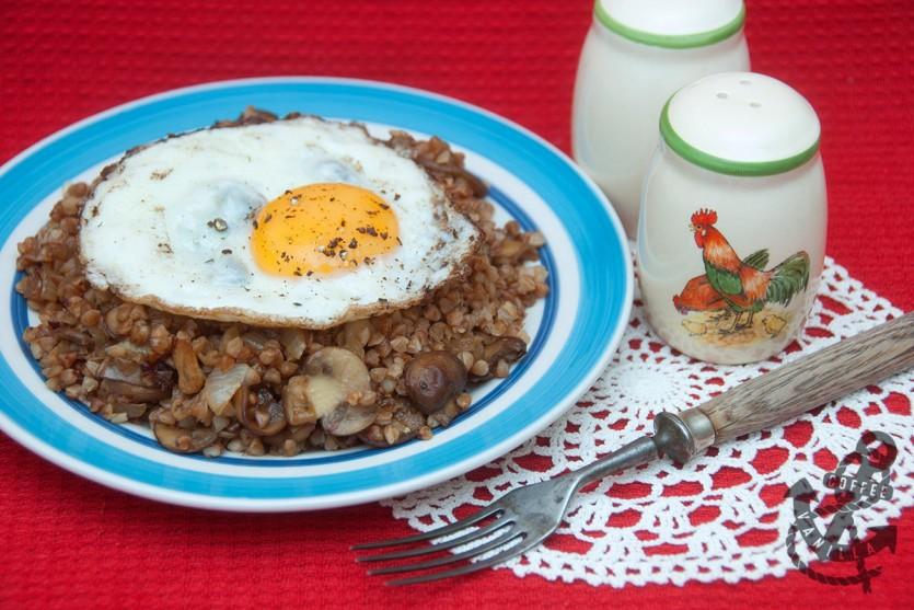 kasha dinner recipe Polish way