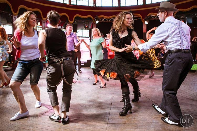 tea dance Brighton Fringe festival photo by Dade Freeman