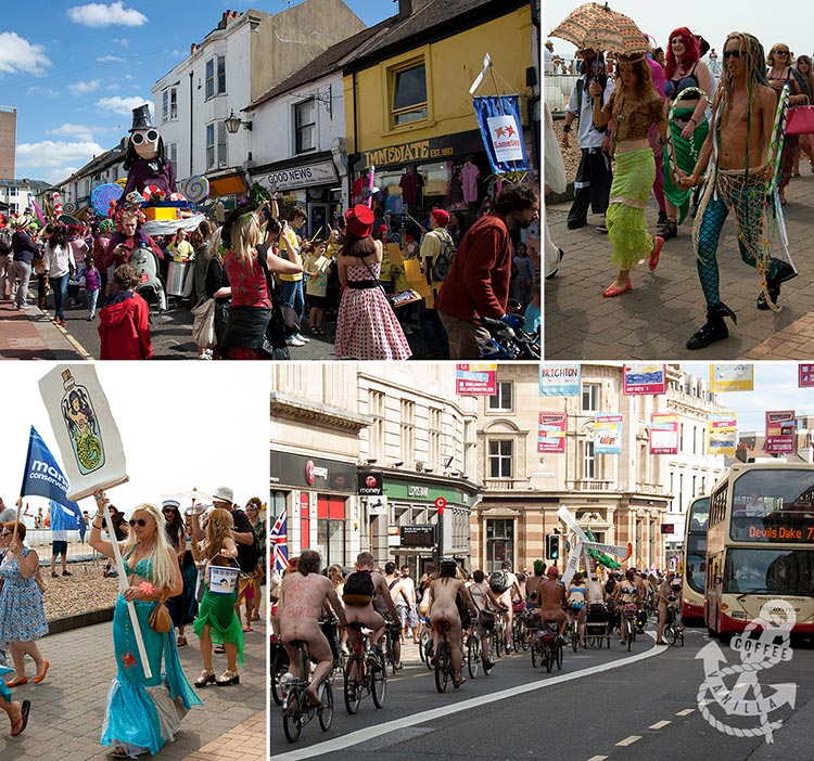 Brighton events festivals parades