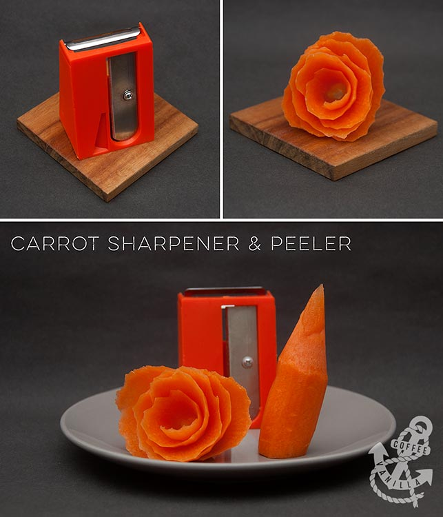 carrot sharpener tool kitchen gadgets for carrots