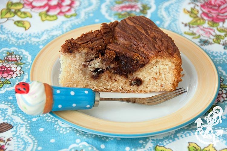 Nutella swirl cake uk easy recipe swirled chocolate cake