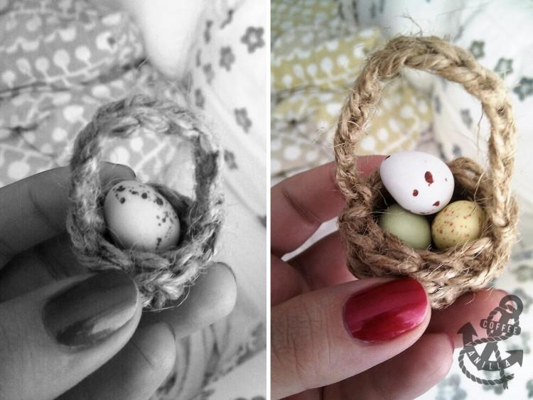miniature easter baskets