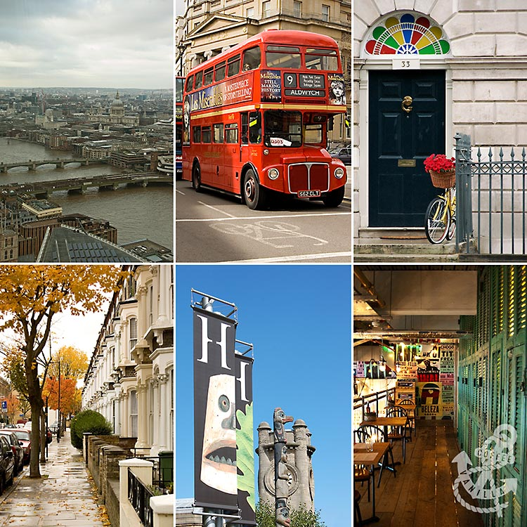 must see places in London restaurants cafes parks venues festivals events