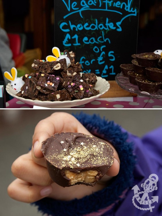 Lotte's Miss Muffin Top vegan chocolate muffins and peanut butter cups