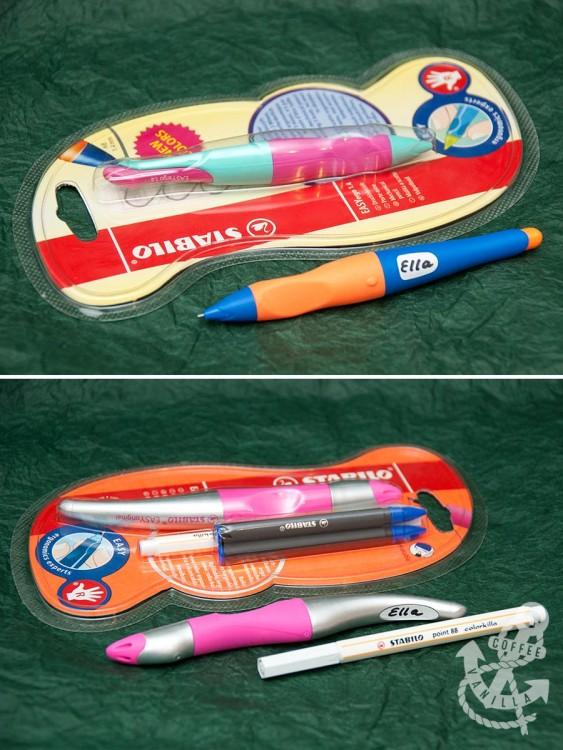 Stabilo left hander right handed handwriting pens pencils