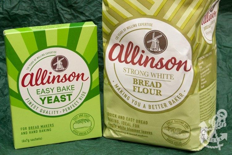 Allinson brad flour Allinson easy bake yeast