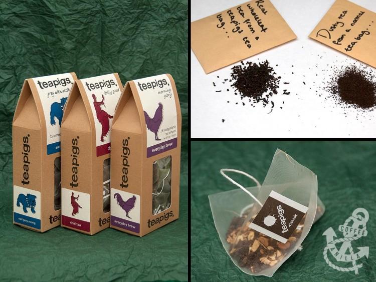 whole leaf loose leaf teas UK from Teapigs