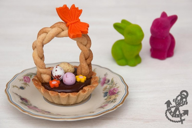 how to make baskets from shortcrust pastry