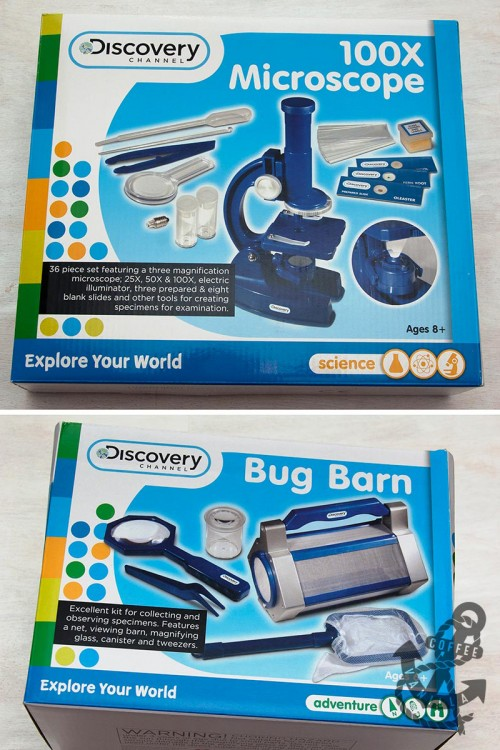 discovery channel microscope set review