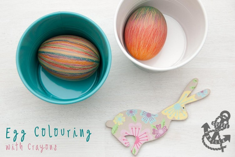mess free egg decoraring