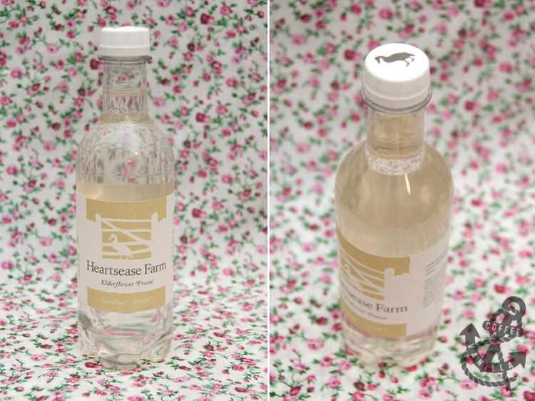 elderflower spring water drink made in UK