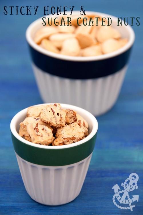 sugar coated almonds recipe