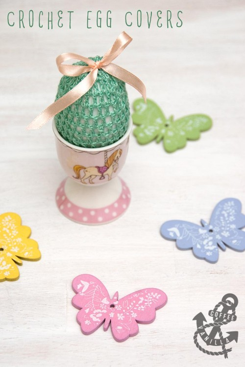 Easter eggs free crochet tutorial pattern