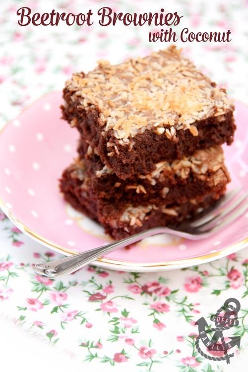 beetroot brownies healthy chocolate brownies