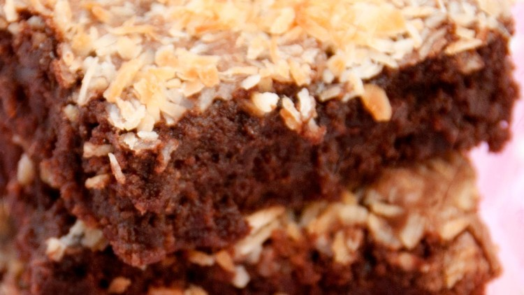 Ultimate Beetroot Brownies with Coconut