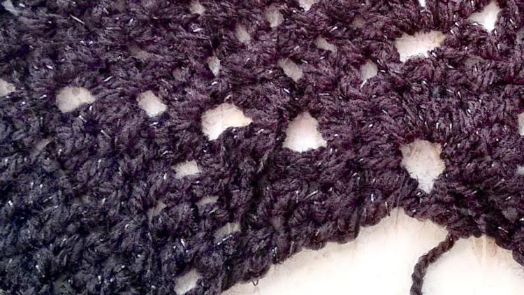 Easy Triple Crochet Cape (Any Size) – Free Pattern