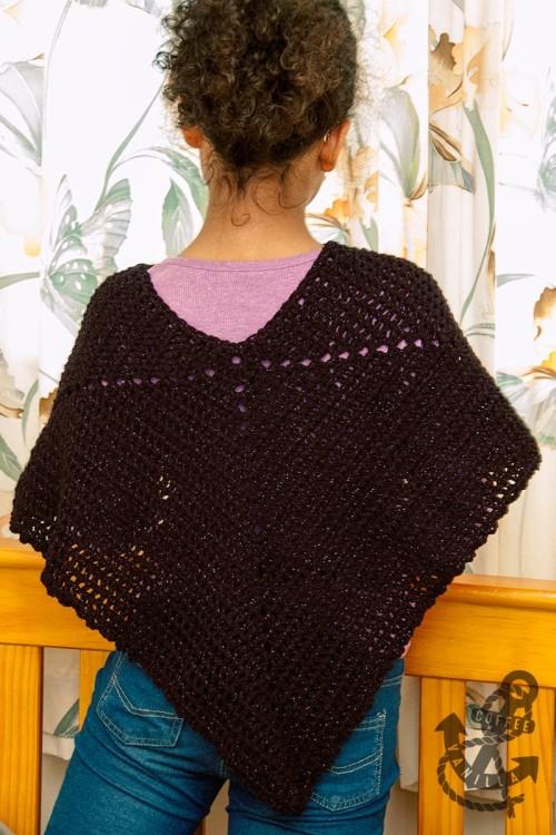 crochet cape pattern plus size