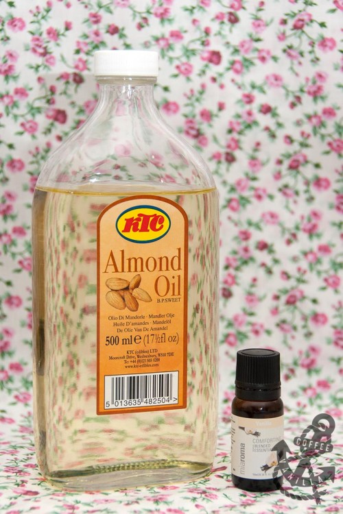 homemade body oil for dry skin on a budget