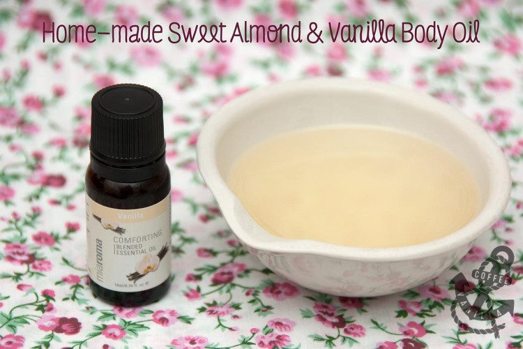 homemade body oil for glowing skin