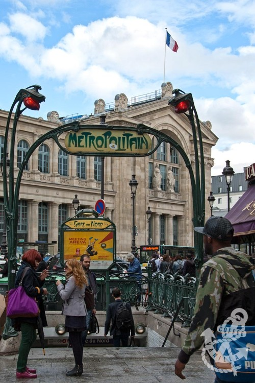 Paris metro Metropolitain line
