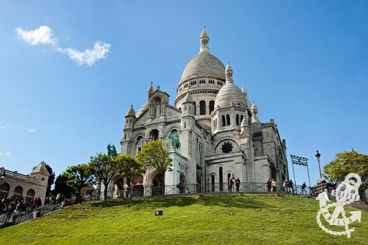 Sacré-Cœur Sacre Coeur Sacred Heart Basilica in Paris