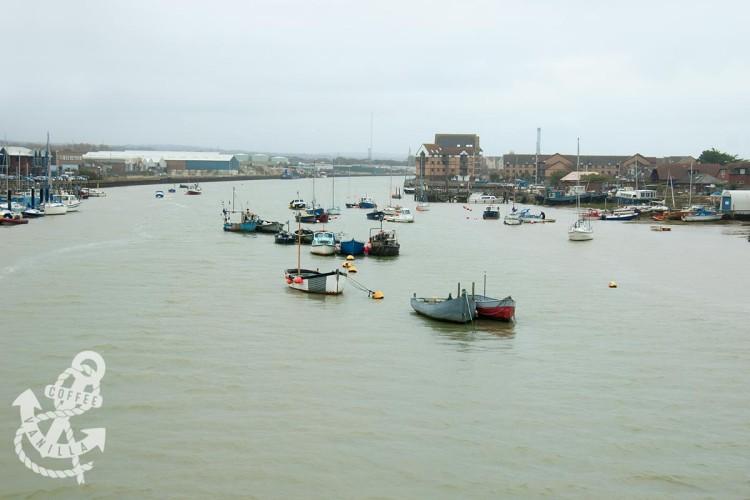 River Adur high tide