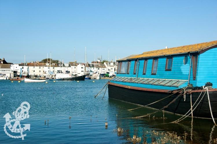 Shoreham by Sea houseboat house boats